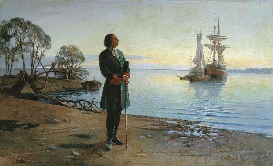 Петр Первый основатель Санкт Петербурга